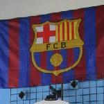 FC Barcelona flag (StreetView)