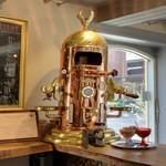 Victoria Arduino's Venus Bar espresso machine (StreetView)