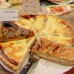 Goat cheese quiche (StreetView)