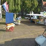The cheese market of Edam (StreetView)
