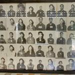 Photographic display of inmates in Tuol Sleng