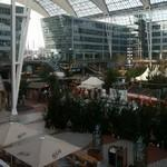Christmas market in Munich Airport