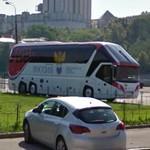 Russian Football Union team bus (StreetView)