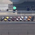 Corvette Indy 500 pace cars (Google Maps)