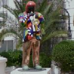 Miles Davis by Niki de Saint Phalle (StreetView)