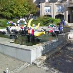 La fountaine Château-Chinon by Niki de Saint Phalle (StreetView)