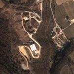 Nuclear warhead storage 'Site Pluto' (Google Maps)
