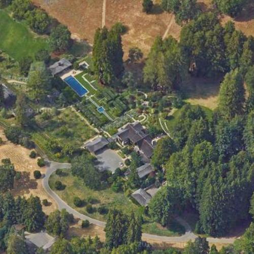 Tom Siebel S House In Woodside Ca Google Maps