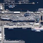 Aircraft Carrier USS Carl Vinson (CVN-70) (Google Maps)