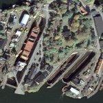 Historic Beckholmen drydocks (Google Maps)