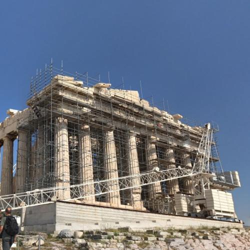 Parthenon on Acropolis (StreetView)