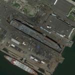 USNS Charlton (T-AKR-314) in Drydock
