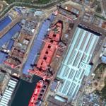 Valemax in Drydock (Google Maps)