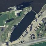 Former drydock (Google Maps)