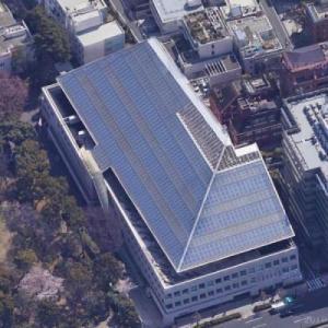 Embassy of Canada, Tokyo (Google Maps)