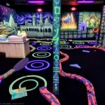 Glow in the dark Minigolf