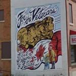 For the Veterans mural