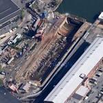 Dry Dock #1 at Brooklyn Navy Yard (Google Maps)