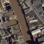 Former drydocks (Google Maps)
