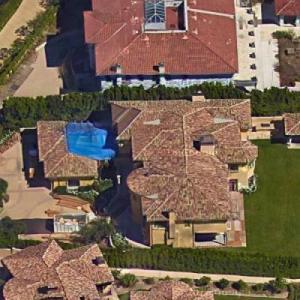 Kim Kardashian & Kanye West's House (Former) (Google Maps)