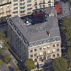 Embassy of Belgium, Paris (Google Maps)