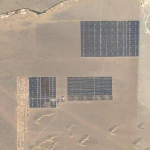 Golmud Solar Park (Google Maps)