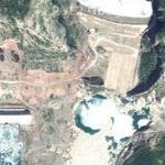 Koman Hydroelectric Power Station (Google Maps)