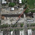 Capital Hill TBM Receiving/Relaunching Trench (Google Maps)