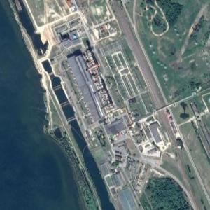 Lukoml Power Plant (Google Maps)