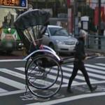 Pulled rickshaw (StreetView)