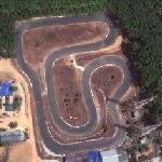 Kart circuit (Google Maps)