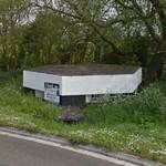 WW2 pillbox (StreetView)