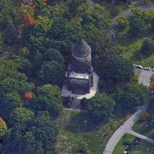 Tomb of President James A. Garfield (Google Maps)
