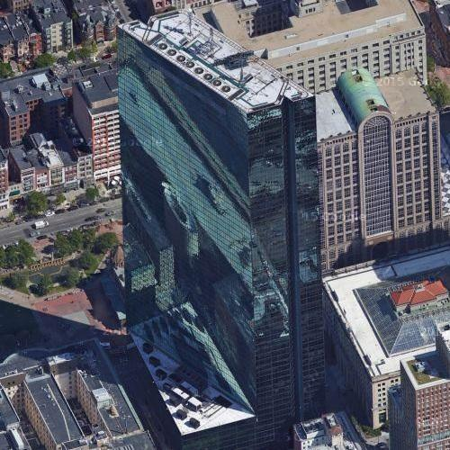 '200 Clarendon Street' by I. M. Pei (tallest building in Massachusetts) (Google Maps)