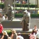 'Youth' and 'Maiden' by Paul Manship (StreetView)