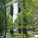 'Manhattan Sentinels' by Beverly Pepper (StreetView)