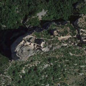 Peyrepertuse Castle (Google Maps)