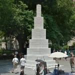 'Tower (Columbus)' by Sol LeWitt (StreetView)