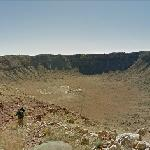 Meteor Crater (StreetView)