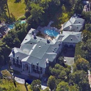Joe Jamail's House (Google Maps)