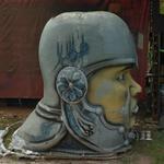 Giant head (StreetView)