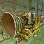 LE-7 rocket engine (StreetView)