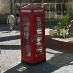 Red telephone box - Las Vegas (StreetView)