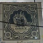Graffiti by Shepard Fairey (StreetView)