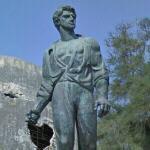 Statue of Mordechai Anielewicz (StreetView)