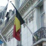 Flag of Belgium (StreetView)