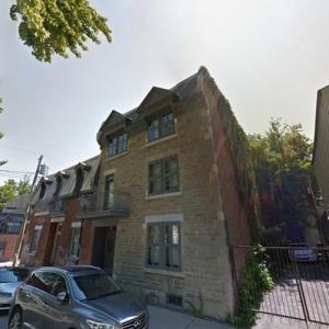 Leonard Cohen's House (StreetView)