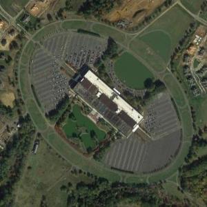 'Bell Labs Holmdel Complex' by Eero Saarinen (Google Maps)