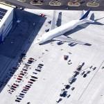 Boeing 747 LCF & Classic Car Show (Google Maps)