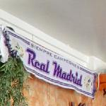 Scarf of Real Madrid (StreetView)